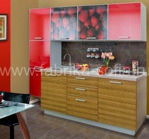 Яркая кухня в стиле модерн изготовле на заказ